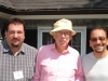 With James Watson (NP 1962) and Daniel Weinberger